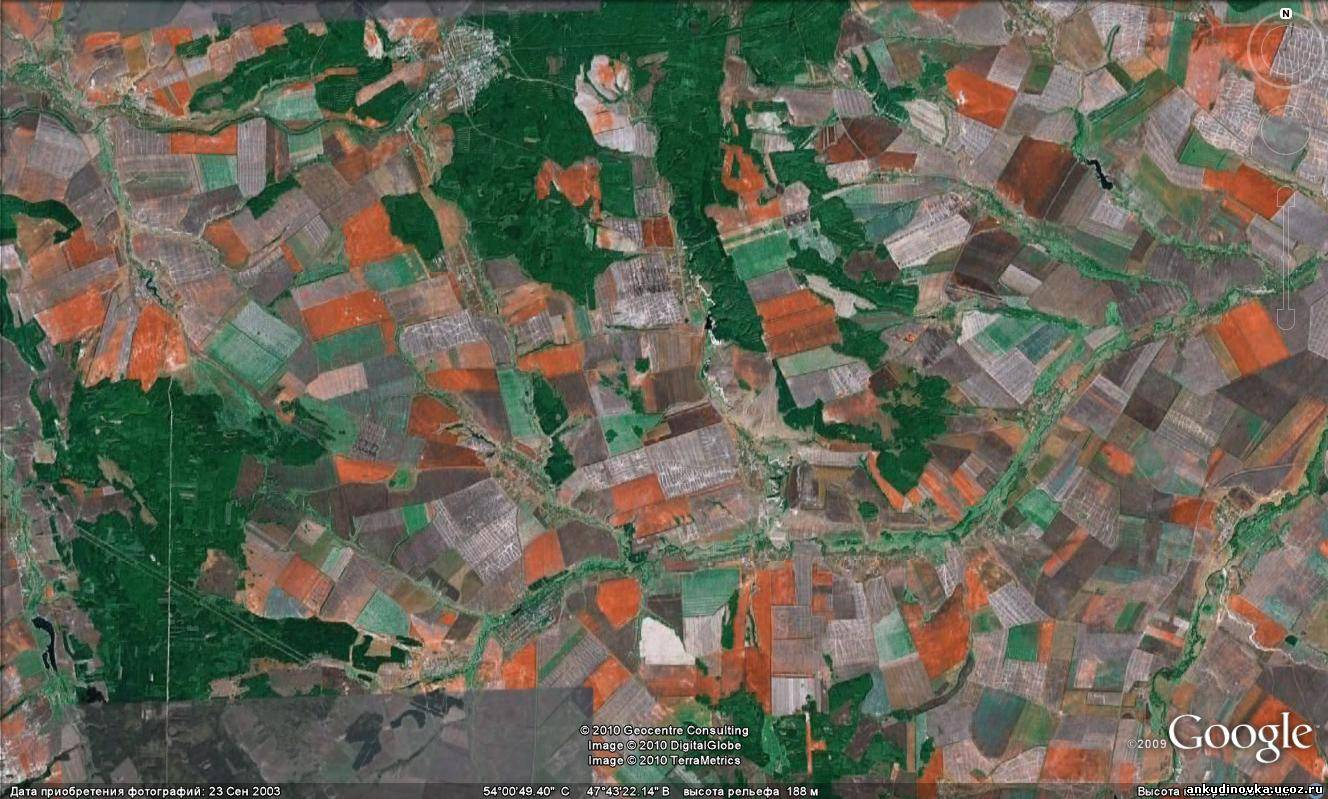 земная поверхность рязанской области фото